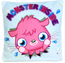 Moshi Monsters 30cm quadrato riempito Cuscino Pillow Kids Girls Personaggio Camera da Letto