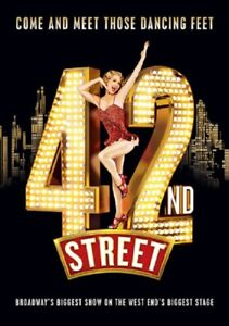 42nd Street The Musical (Bonnie Langford Tom Lister Clare Halse) New DVD