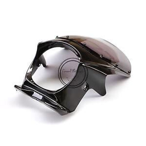 Black Upper Fairing Cowl + Windshield Fit For Yamaha XJR400 XJR1300 ZRX400