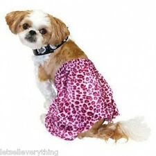 NEW PINK LEOPARD CHEETAH PUNK ROCKER STUD COLLAR DOG HALLOWEEN pet COSTUME sz XL