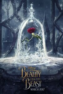 Beauty and the Beast - original DS movie poster - D/S 27x40 Advance