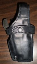Safariland 070-240 Plain Leather Duty Holster Fits Smith and Wesson 4046