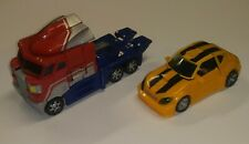 Transformers RID Optimus Prime Voyager & Deluxe Classic Bumble Bee
