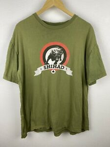 Vintage Shihad Beautiful Machine Mens T Shirt Size XL Double Graphic Crew 2008