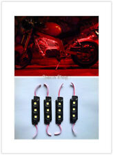 LED 4X4/OFF ROAD/JEEP 3 SMD Bright Red Under Body Rock Lights Ultra !