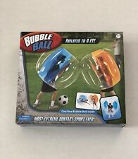 Bubble Ball NEW Magic Time Blue Inflatable 4 FT. Bumper Game Wearable Bubble