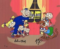 RUGRATS HANUKKAH LIMITED EDITION ARTIST PROOF HAND PAINTED SIGNED KLASKY CSUPO