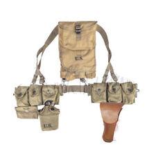 Combination US WW2 Military  Combat Equipment Hacksack BAR Belt Automatic Rifle