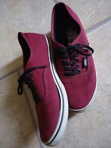 Baskets rouges VANS pour femme | eBay