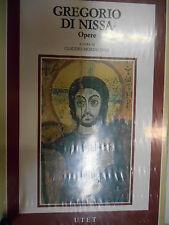 Gregorio di nissa opere claudio moreschini (a cura di) [9788802045863]