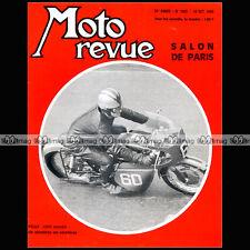 MOTO REVUE N°1902 SALON DE PARIS COUPE MONTHLERY JEAN PELLE ALAIN BARBROUX 1968