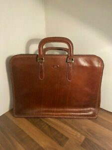 VINTAGE 'THE BRIDGE' - BRAND NEW IN DUST BAG Leather Bag, Satchel, Briefcase