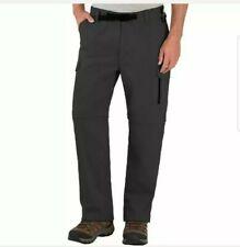 BC Clothing Men's Convertible Pant (Mx30, Charcoal)