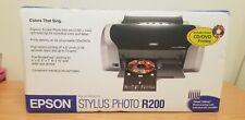 Epson Stylus Photo R200 Digital Photo Inkjet Printer CD DVD Printing NEW SEALED