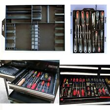 Screwdriver and Bits Organizer For Craftsman Tools, Tool Box Chest Drawer Tray
