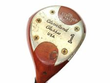 Vintage CLEVELAND CLASSIC RC53 PERSIMMON Oil Hardened DRIVER DC S300 Stiff RH