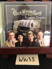 The Chuck Wagon Gang: Wagon Tracks Live CD! Southern Gospel! RARE! OOP! FREE S/H