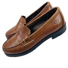 Dexter Womens Size 7.5 W Brown Leather Penny Loafers Comfort Walking Made in USA