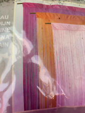 Heavy Pink String Door Curtain Screen Divider Window Blind
