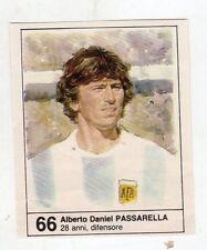 Figurina picture cards NEW IL GIORNALINO MUNDIAL 82 1982 N. 66 PASSARELLA