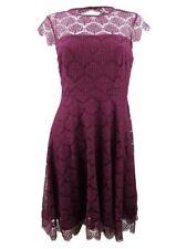 Kensie Women's Lace Fit & Flare Dress