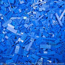 LEGO 8lb (BRIGHT) BLUE~3200 Pieces-SANITIZED-Bulk Pound Lot Brick Part Random As
