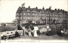 Margate. Gap Bridge & High Cliffe Hotel # 42 by LL/Levy. Black & White.