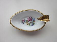 Porcelain de France Dubarry ashtray