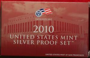 Uncirculated 2010 United States Silver Proof Set