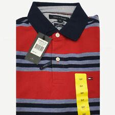 Genuine Tommy Hilfiger Boy's Men Polo Collar Cotton T Shirt  Slim Fit casual