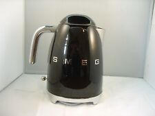 Smeg KLF01BLUK Black 50's Retro Kettle- Customer Return,Rim-Warranty