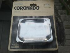 NOS Hall-Mack Polished Triple Plated Chrome Coronado 1620 Soap Dish Holder NEW!
