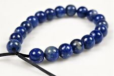 Quality Natural Genuine Lapis Lazuli Small Round Bead- 4.2~4.4mm- 20 beads-4911A