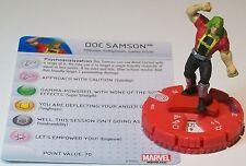 DOC SAMSON #012 Civil War Storyline Marvel HeroClix
