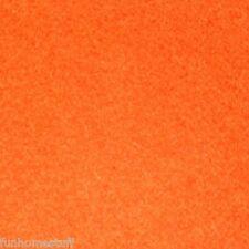 8' Cut Billiard 8 FT Pool Table Cloth Stain Resistant Leisure Felt Fabric ORANGE
