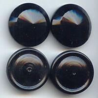 #153 Vintage Cabochons Blue Czech NOS RARE Oval 11mm by 14mm Bumpy Shabby Chalk