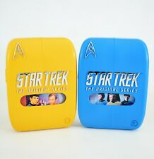 STAR TREK The Original Series 1 and 2 Rare UK DVD Phaser Case Box Sets 2004