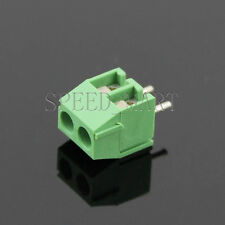 2 Pin 3.5mm 2 way straight pin PCB Universal Screw Terminal Block Connector