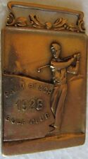 VINTAGE 1926 PALM BEACH CHAMPIONSHIP MEDAL FOR MEDALIST-STAMPED SOLID GOLD