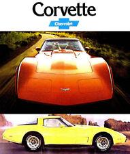 1979 CHEVY CORVETTE BROCHURE -CHEVROLET CORVETTE-CHEVY CORVETTE-L82