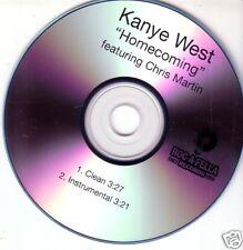 COLDPLAY Kanye West RARE TST PRESS PROMO DJ CD Single