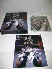 BEPUZZLED To Kill A Boss Mystery Jigsaw Puzzle Thriller