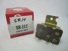 79-90 Chrysler Dodge Plymouth Starter Relay STANDARD SR14 SR112