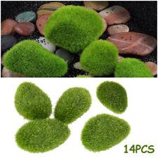 14 Artificial Stone Moss Filler Greenery Silk Wedding Flowers Centerpieces Decor
