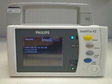 Philips Intellivue X2 Mp2 Patient Monitor M3002a Ecg Spo2 Ibp Nibp Temp