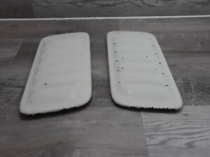 1998 Jeep Grand Cherokee 5.9 ZJ Limited 5.9 Hood Louvers Scoops Vents OEM WHITE
