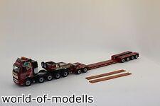 WSI 01-1257 VOLVO FH2 Globetrotter XL Nooteboom 4achs EURO-PX + 2achs ICP 1:50