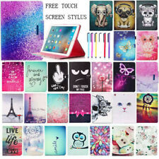 For iPad 9.7 2018 Air Pro 10.5 Mini 2 3 4 Pattern Leather Stand Smart Cover Case