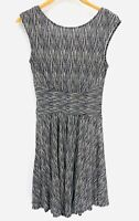 Anthropologie Moulinette Soeurs South Shore Flare Dress Ruched Waist Sz Small