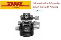 Leofoto LH-55 Ball Head Tripod Head with QR Plate / RRS / ARCA for DSLR Camera